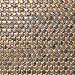 Mek gold circles | Ceramic mosaics | Atlas Concorde