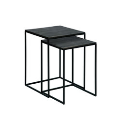 Dagny set graphit | Nesting tables | Lambert