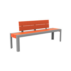 MLB1050-POR Bench | Bancos | Maglin Site Furniture