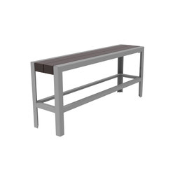 MLB1050B-BH-PBN Backless Bar Height Bench | Bancos de jardín | Maglin Site Furniture