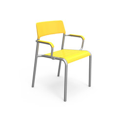 FRC1700-MSF-M2-A Chair with Arms | Stühle | Maglin Site Furniture