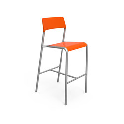 FRST1700-BH-MSF-M1 Bar Height Stool | Garten-Barhocker | Maglin Site Furniture