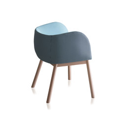Mousse | Visitors chairs / Side chairs | CHAIRS & MORE