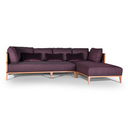 Promenade 185 with Chaise Longue | Sofas | WIENER GTV DESIGN
