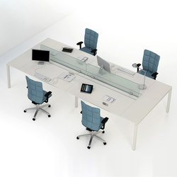 Asterisco IN | Multiple Desks | Tischsysteme | Estel Group