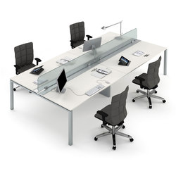 Top quality office desk workstation Person Asterisco In Multiple Desks Desks Estel Group Global Sources Desks 4person Workstations High Quality Designer Desks Architonic