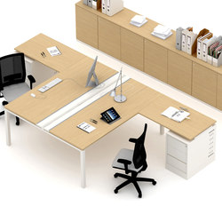 Asterisco IN | Multiple Desks | Desking systems | Estel Group