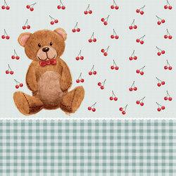 Teddy | Carta parati / tappezzeria | LONDONART