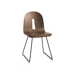 Gotham Woody Sled | Sillas | CHAIRS & MORE