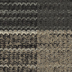 World Woven - Summerhouse Shades Charcoal variation 1 | Carpet tiles | Interface USA