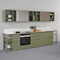 Buffet | Banco A Parete | Cucine modulari | Estel Group
