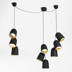 Chains | Triple Pendant Lamp 3 Units | General lighting | Petite Friture