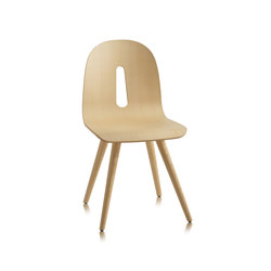 Gotham Woody | S | Visitors chairs / Side chairs | CHAIRS & MORE