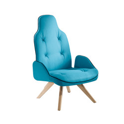 Betibu' | P | Lounge chairs | CHAIRS & MORE SRL