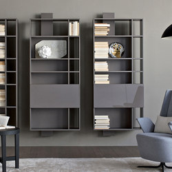 Contatto | Bookcase With Doors | Scaffali | Estel Group