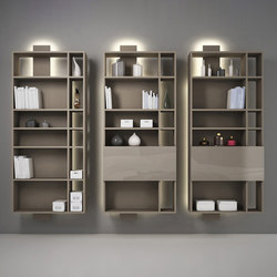 Contatto | Bookcase With Doors | Étagères | Estel Group