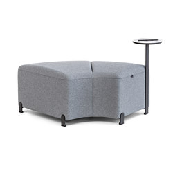 Bend 10 | F24 | Modular seating elements | actiu