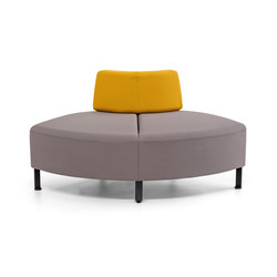Bend 20 | F53 | Modular seating elements | actiu