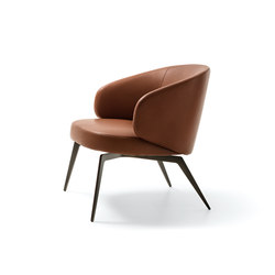Lounge chair Bice | Poltrone lounge | LEMA