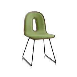 Gotham Woody Sled | I | Visitors chairs / Side chairs | CHAIRS & MORE