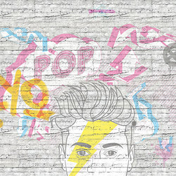 Miley | Wall coverings / wallpapers | LONDONART s.r.l.