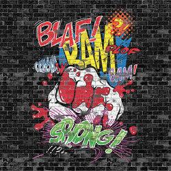 Bam Sock | Carta parati / tappezzeria | LONDONART