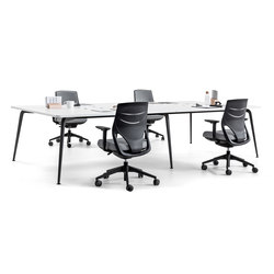 Twist Operative | Twin & Meeting Desk | Contract tables | actiu