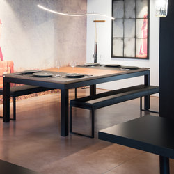 Fusion Rock Reverso | Dining tables | Fusiontables