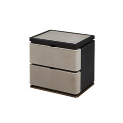 Au Bout de la Nuit bedside table | Sideboards | Promemoria