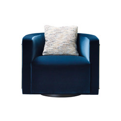 Pervinca swivel armchair | Lounge chairs | Promemoria