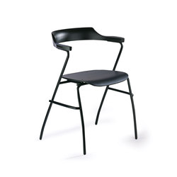 4455 Chair Black | Visitors chairs / Side chairs | Rex Kralj