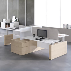 Evo Sit&Stand | Desking systems | Estel Group