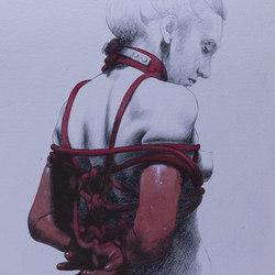 Sara | Wandbilder / Kunst | Inkiostro Bianco