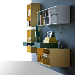 Habitat Carabottini | Wall storage systems | Estel Group