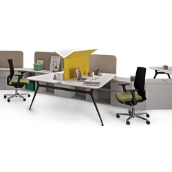 I Pianeti Frattale | Desking systems | Estel Group