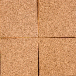 Shapes - Blocks (Natural) | Baldosas de corcho | Architectural Systems
