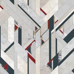 Fracture | Carta da parati / carta da parati | Inkiostro Bianco