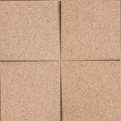 Shapes - Blocks (Ivory) | Cork tiles | Architectural Systems