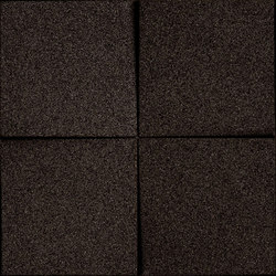 Shapes - Blocks (Black) | Baldosas de corcho | Architectural Systems