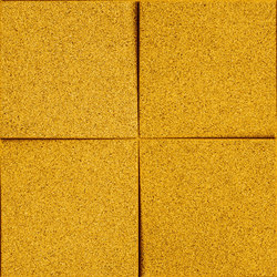 Shapes - Blocks (Yellow) | Cork tiles | Architectural Systems