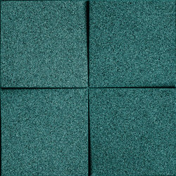 Shapes - Blocks (Emerald) | Cork tiles | Architectural Systems