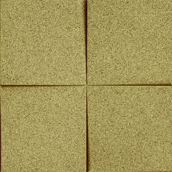 Shapes - Blocks (Olive) | Cork tiles | Architectural Systems