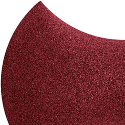 Shapes - Bow Tie (Bordeaux) | Cork tiles | Architectural Systems