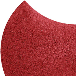 Shapes - Bow Tie (Red) | Cork tiles | Architectural Systems