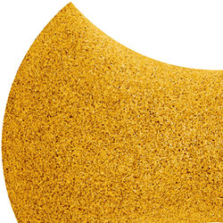 Shapes - Bow Tie (Yellow) | Cork tiles | Architectural Systems