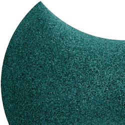 Shapes - Bow Tie (Emerald) | Cork tiles | Architectural Systems