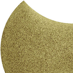 Shapes - Bow Tie (Olive) | Cork tiles | Architectural Systems