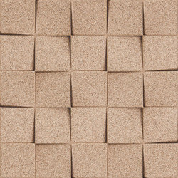 Shapes - Checkers (Ivory) | Cork tiles | Architectural Systems