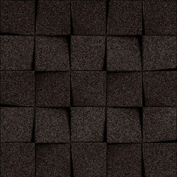 Shapes - Checkers (Black) | Baldosas de corcho | Architectural Systems