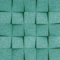 Shapes - Checkers (Turquoise) | Dalles de liège | Architectural Systems